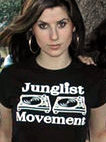 JUNGLIST MOVEMENT T-SHIRT - AEROSOUL LONDON